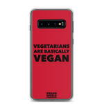 Vegetarians Are Basically Vegan Samsung Case (all sizes)