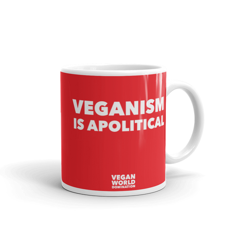 Veganism Is Apolitical Coffee Mug
