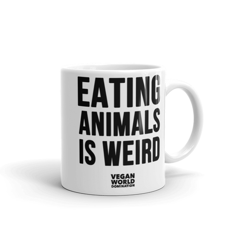 Eating Animals Is Weird Coffee Mug