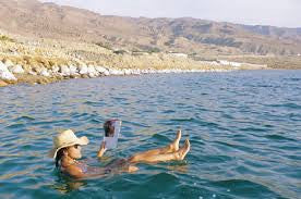 The beginning of Dead Sea and Natural Cosmetics Products
