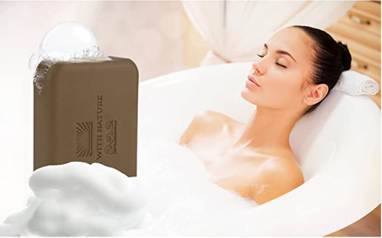 Dead Sea mineral salt and mud Soap