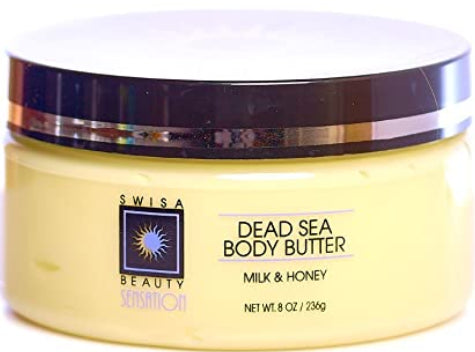 Swisa Beauty Dead Sea Body Butter Milk and Honey