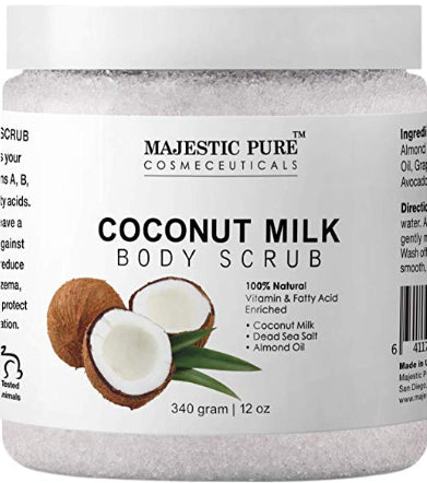 Majestic Pure Coconut Milk Body Scrub