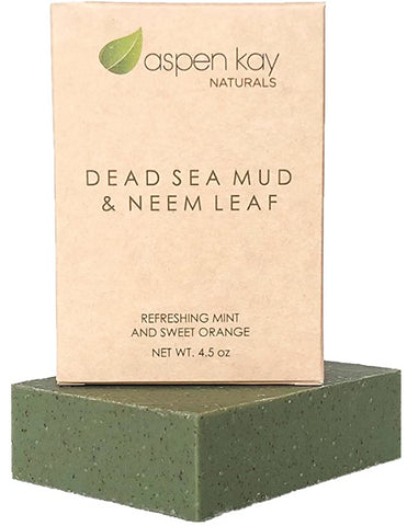 Dead Sea Mud and Neem Soap - 100% Natural and Organic Soap