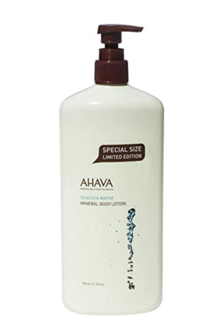 AHAVA Dead Sea Mineral Body Lotions,Dead Sea Water, 1.3 Fl Oz