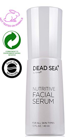 ★REDUCE WRINKLES AND FINE LINES ON YOUR FACE★ Our nutritive serum with Dead Sea minerals, collagen and jojoba improves skin elasticity and revitalizes your skin to reduce wrinkles and fine lines. ★ANTI-AGING PROTECTION FOR YOUR SKIN★ Active collagen, and Hyaluronic Acid will help protect your skin from free radicals and sun damage. ★DEEP MOISTURIZATION THAT LASTS★ Hydrate and rejuvenate your skin with all-natural antioxidants including argan oil and aloe Vera.