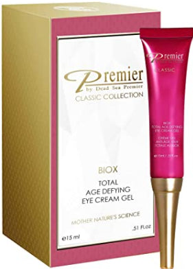 Premier Dead Sea classic BIOX Eye Gel, Intensive Age Treatment, Anti-Age, anti wrinkle anti expression marks Complex