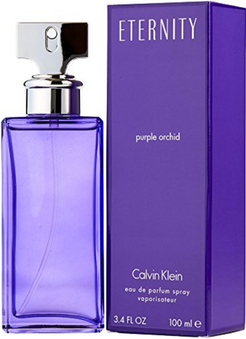CK Eternity Purple Orchid women Eau De Parfum Spray 3.4 FL OZ/100 ml by c k
