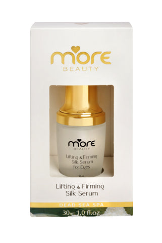 More beauty face and eye serum