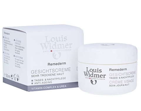 Louis Widmer Remederm Face Cream for Very Dry Skin Day and Night Care Anti-ageing (Non-scented) 50 ml