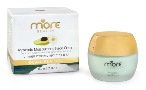 Moisturizing Face Cream Enriched with Avocado Oil For Normal to Dry Skin