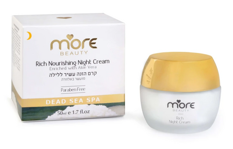 More Beauty Rich Nourishing Night Cream For All Skin Types