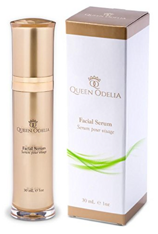 Queen Odelia Best Face Serum with Prickly Pear Seed Oil