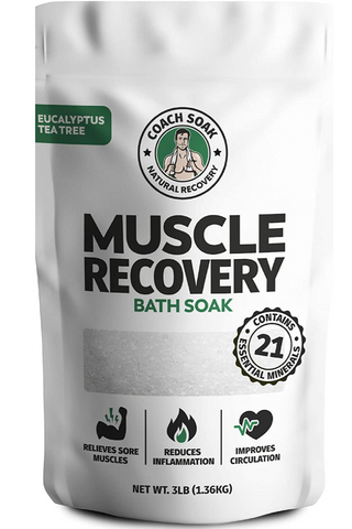 Coach Soak: Muscle Recovery Bath Soak - Natural Magnesium Muscle Relief & Joint Soother