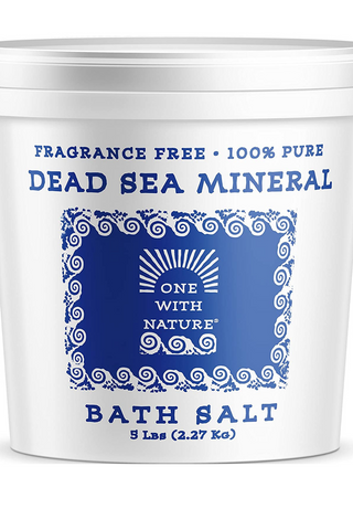 one with nature dead sea salt