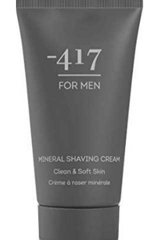 -417 Dead Sea Cosmetics Vegan Mineral Shaving Cream for Close & Clean Shave With No Irritation