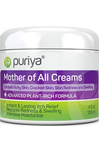 Puriya Dry Cracked Sensitive Skin Moisturizer -Award Winning - Trusted by 300,000 Families - Plant Rich Instant Lasting Relief. Hydrates and Softens Rough Skin. Intensive Body, Hand, Foot, Face Cream