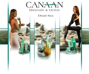 Canaan cosmetics minerals and herbs