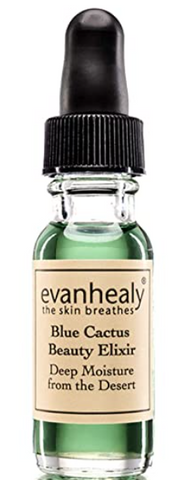 evanhealy Blue Cactus Beauty Elixir | Organic Jojoba & Prickly Pear Oils | Soothing & Hydrating Serum for All Skin Types