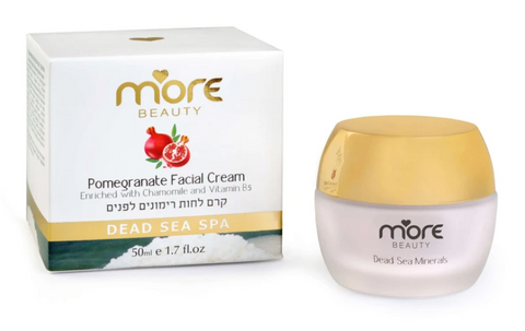 Light-textured Facial Cream Enriched With Pomegranate Extract By More Beauty