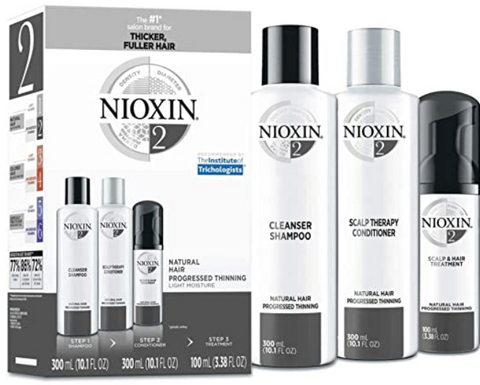 Nioxin System 2 Hair Care Kit for Natural Hair