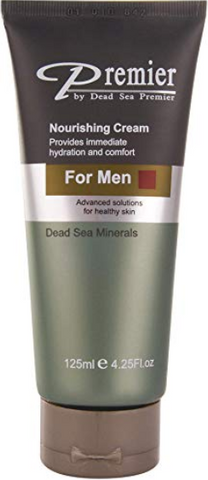 Premier Dead Sea Classic Nourishing Cream for Men, Light and gentle Moisturizer, Anti Wrinkle, firming, Sensitive Skin, Daily Use for younger looking skin