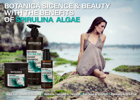 SPIRULINA PROFESSIONAL ANTI HAIR LOSS KIT BY BOTANICA