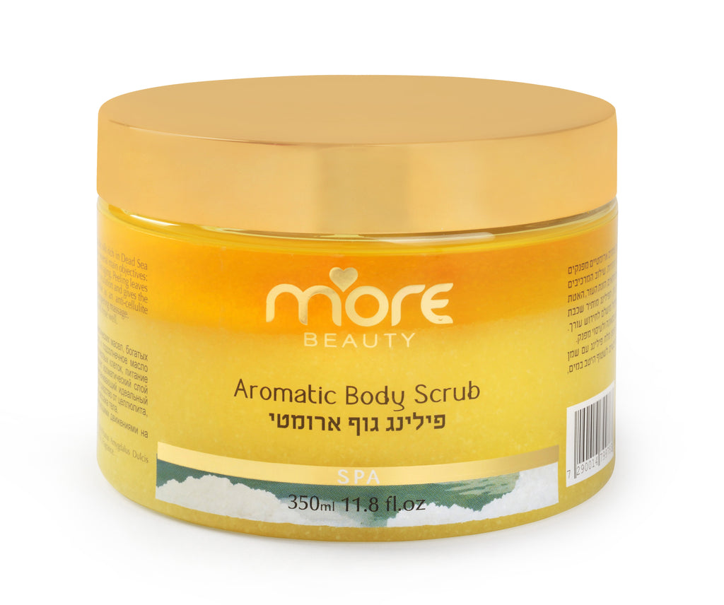 More Beauty Aromatic Body Scrub Yellow Lemongrass Pack