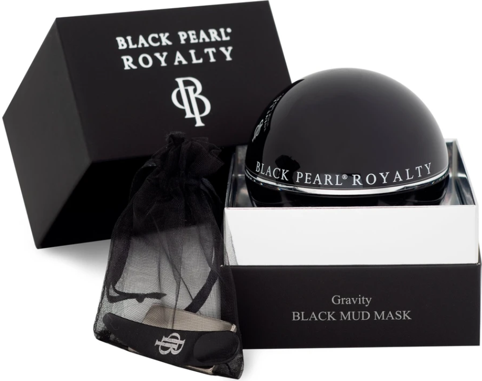 gravity black mud mask by black pearl