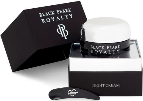 black pearl night cream