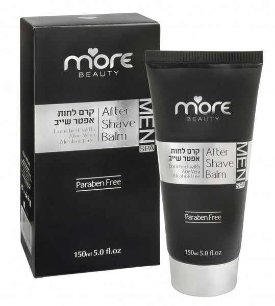 After Shave Balm With Aloe Vera & Dead Sea Minerals - Alcohol Free 150 ml