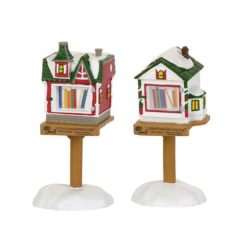 Christmas Village Libraries