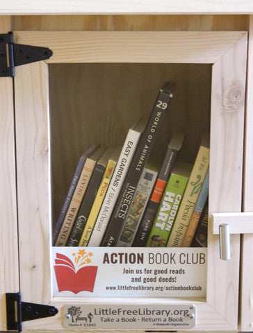 Brochure Panel Action Book Club