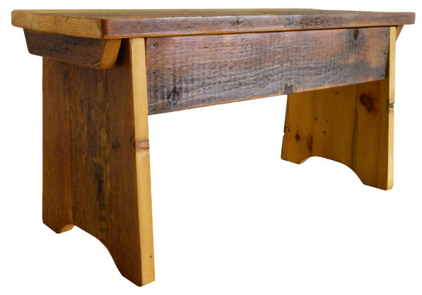 Amish Barnwood Bench