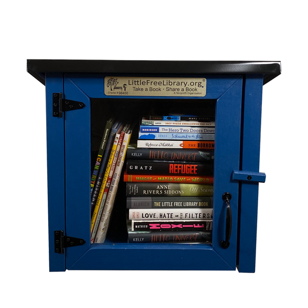 Cottage Blue Kit Little Free Library