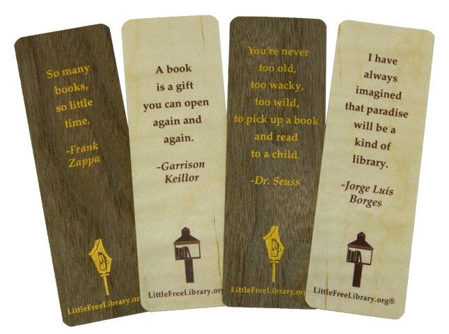 Wooden Bookmark Bundle