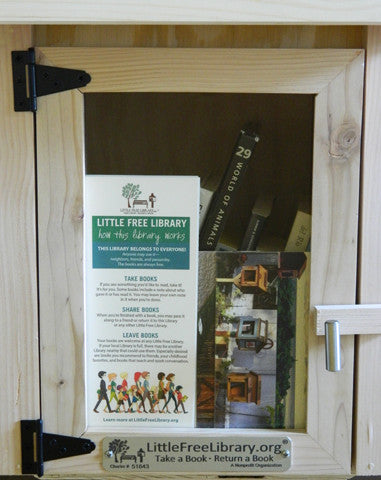 Brochure Panel Little Free Library Neighborhood