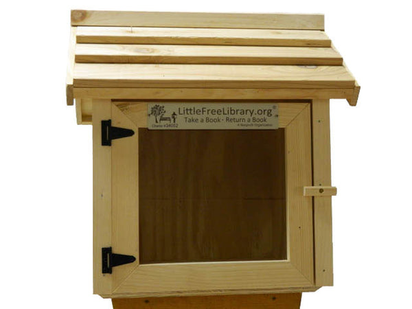 Cedar Roof Basic Little Free Library