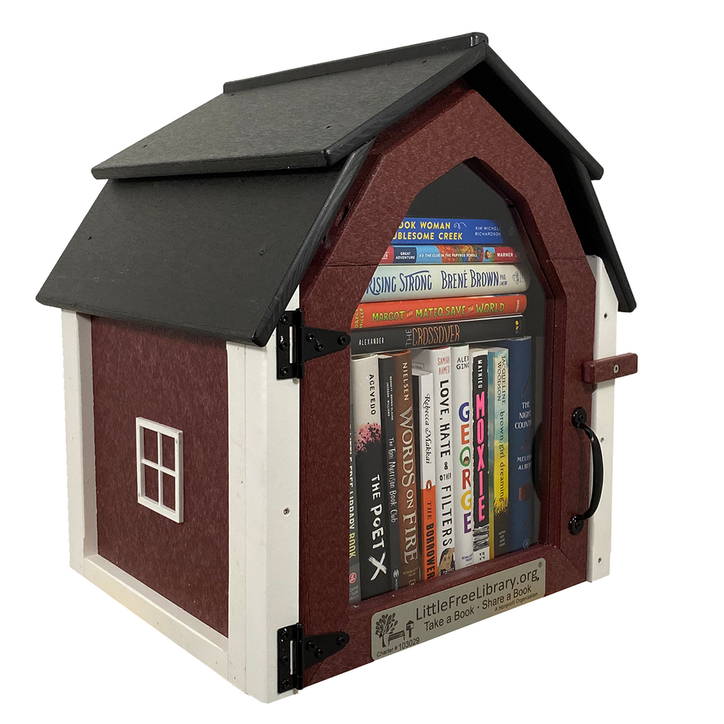 Composite Barn Little Free Library