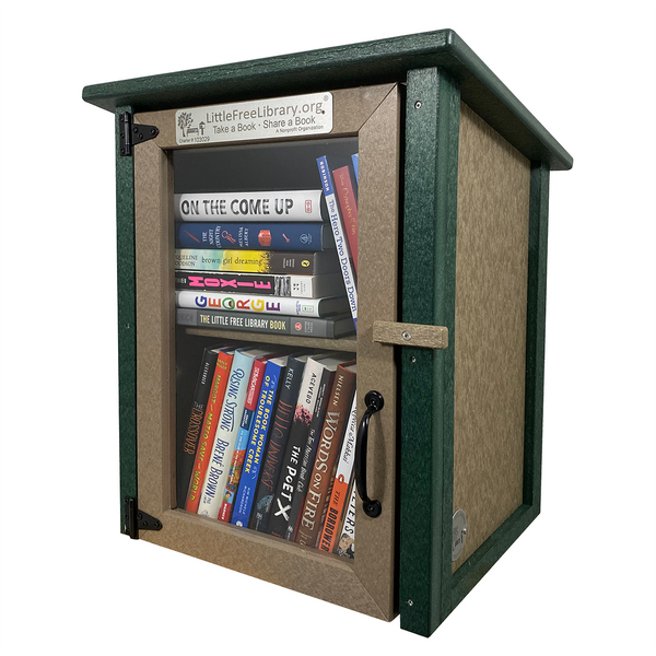 Composite Two Story Forest Kit Little Free Library