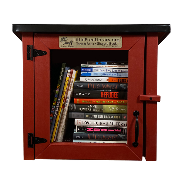 Cottage Red Little Free Library
