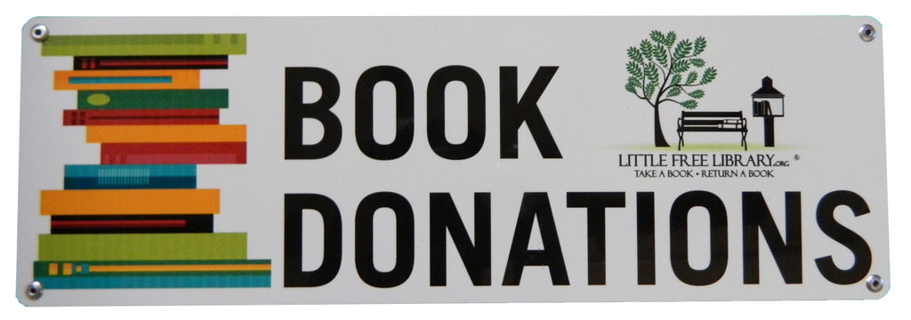 Donation Sign