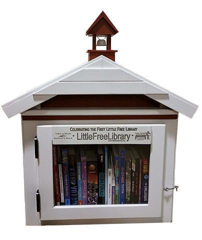 First Library Replica Little Free Library box