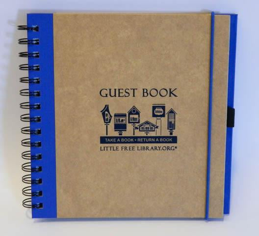 Little Free Library Guest Book