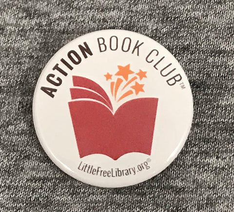Action Book Club Button Pack