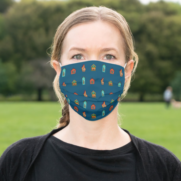 Little Free Library Face Mask