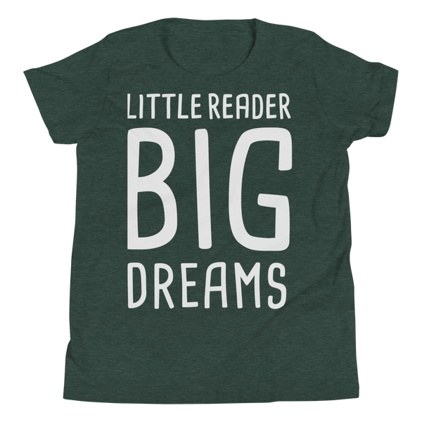 Little Reader Big Dreams Youth Shirt