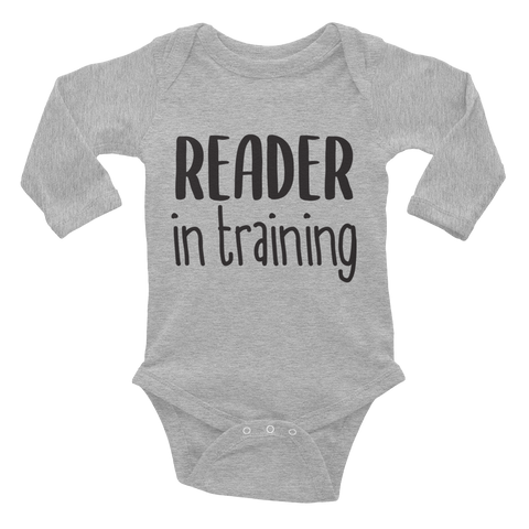Reader in Training Onesie