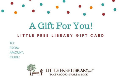 Little Free Library Gift Card