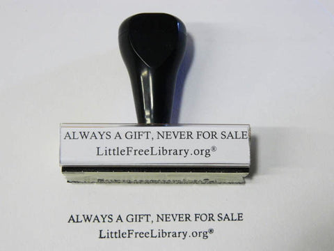 Little Free Library Stamp